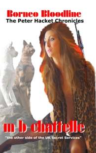 Borneo Bloodline - book cover - author mbchattelle.me.uk